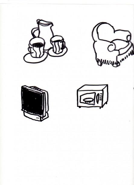hfauteil service à café micro-onde tv038