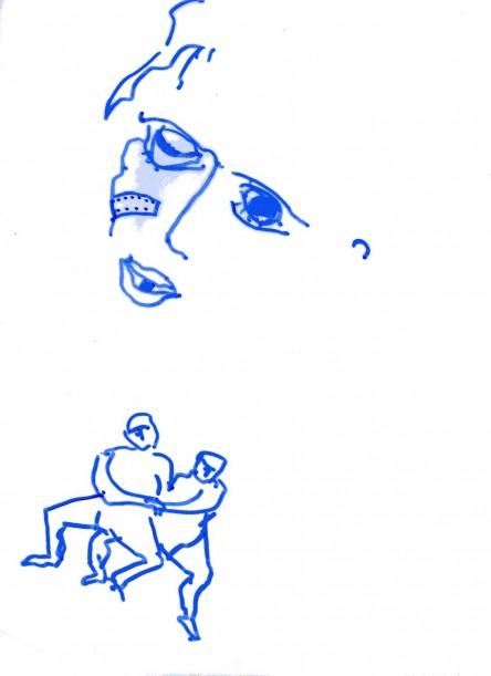 phomes qui luttent portrait blessure026